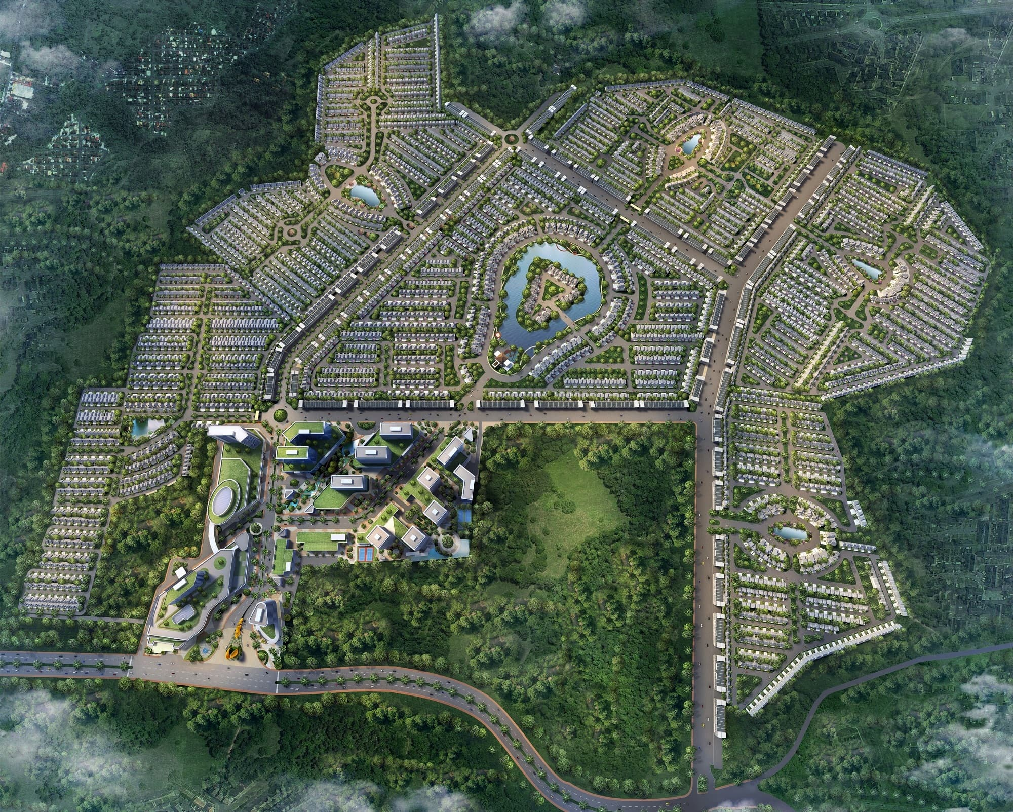 CitraLand-Cibubur-Master-Plan