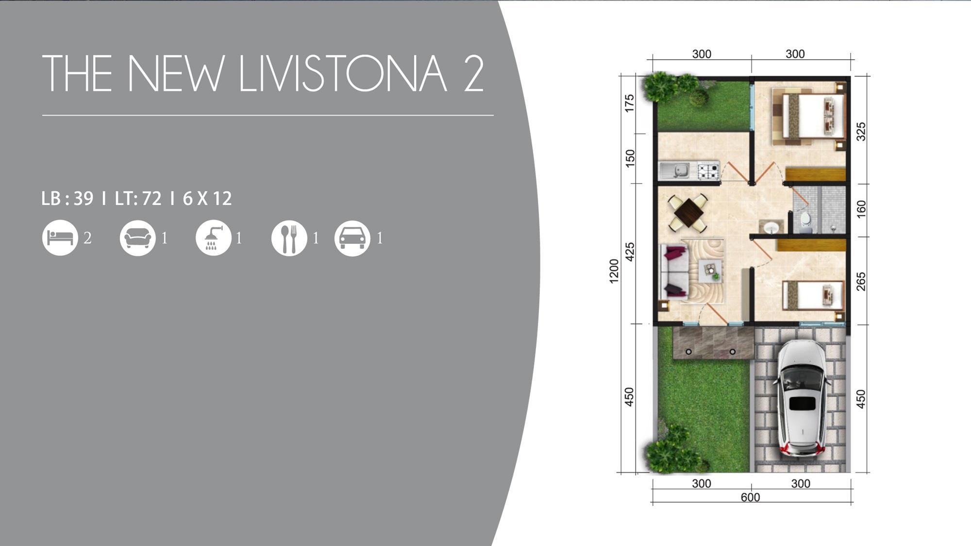 Denah The New Livistona