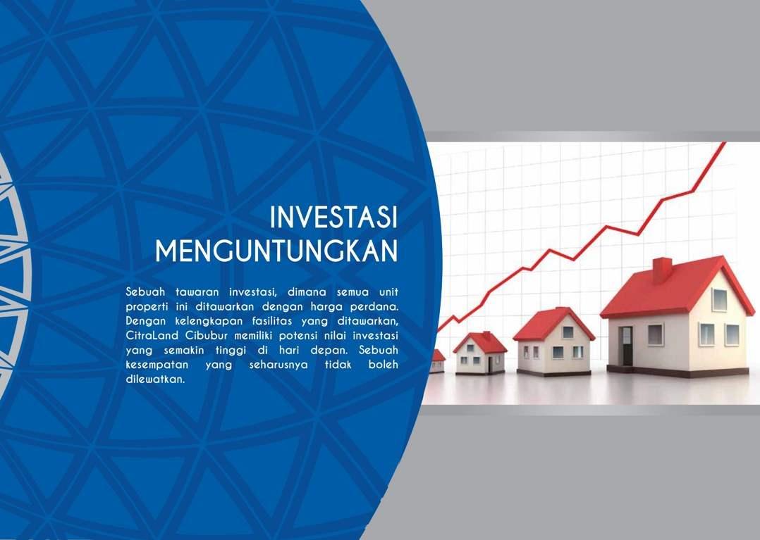 Investasi di CitraLand Cibubur